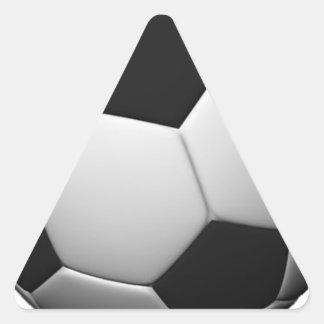 Soccer Triangle Sticker
