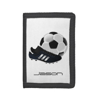 Soccer Trifold Wallet