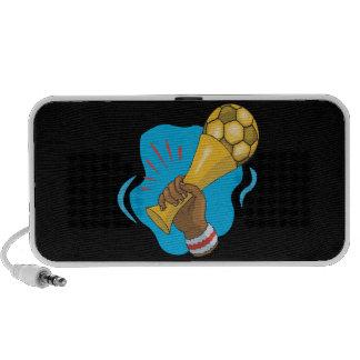 Soccer Trophy Laptop Speaker