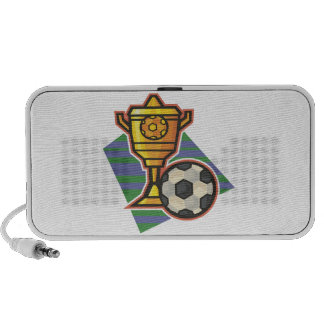 Soccer Trophy Notebook Speaker