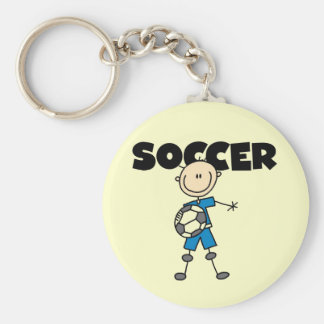SOCCER Tshirts and Gifts Basic Round Button Keychain