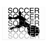 SOCCER Tshirts and Gifts Post Card
