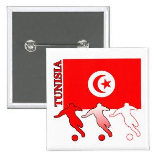 Soccer Tunisia Square Button