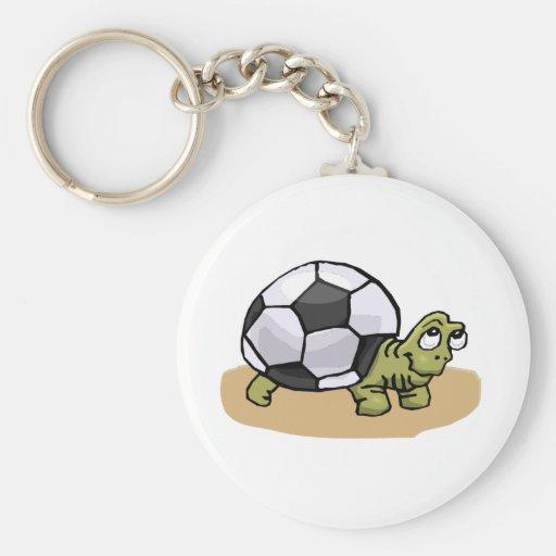 Soccer Turtle Key Chain