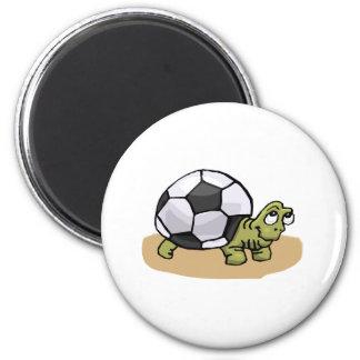 Soccer Turtle Magnet