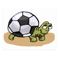 Soccer (Turtle) Postcard