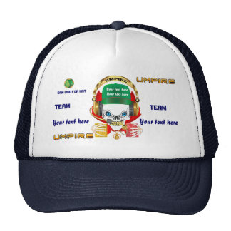 Soccer Umpire All Styles View Hints Trucker Hat