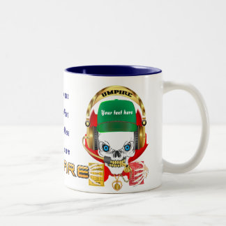 Soccer Umpire All Styles View Hints Two-Tone Coffee Mug