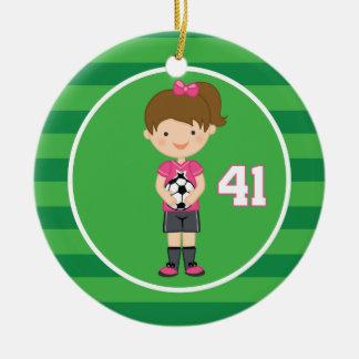 Soccer Uniform Number 41 (Girls) Ornament