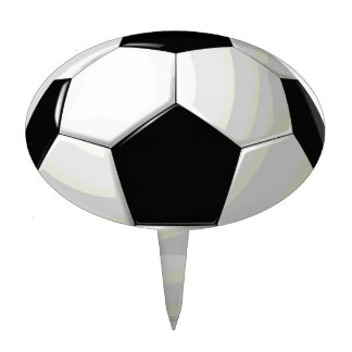 Soccer Unique Artwork Cake Topper