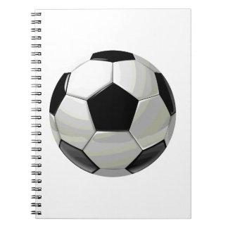 Soccer Unique Artwork Notebook