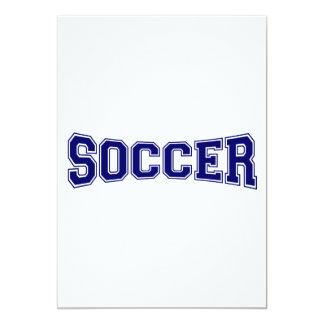 Soccer University Style Card