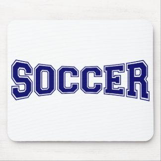 Soccer University Style Mouse Pad