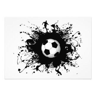Soccer Urban Style Custom Invite
