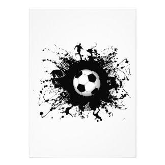 Soccer Urban Style Invites