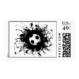 Soccer Urban Style Stamp