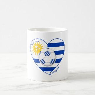 "Soccer ""URUGUAY"". National Uruguayan soccer team Mug"