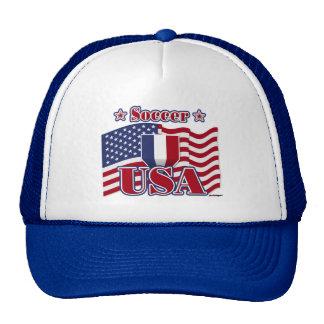 Soccer USA Mesh Hats