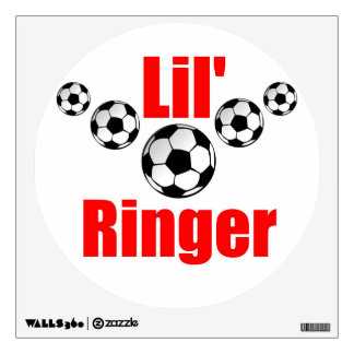 Soccer wall Decal for a babies room