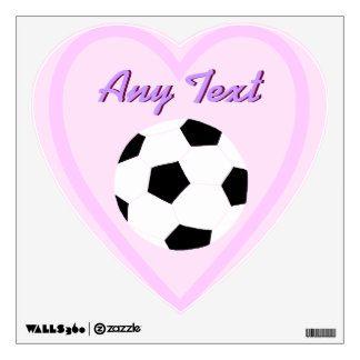 Soccer Wall Decals: Custom Soccer Room Graphic