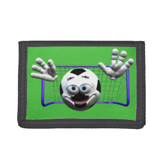 Soccer Trifold Wallets