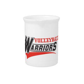 soccer warriors design beverage pitchers