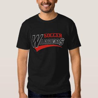 soccer warriors design t-shirt