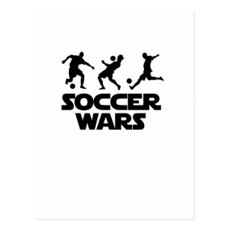 Soccer Wars for world cup Postcard