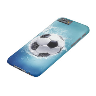 Soccer Water Splash Barely There iPhone 6 Case