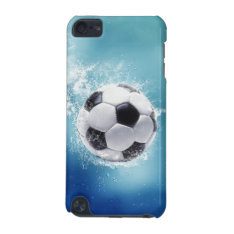 Soccer Water Splash Ipod Touch 5g Case at Zazzle