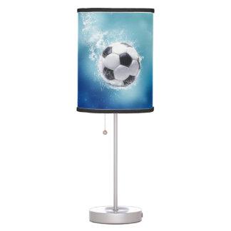 Soccer Water Splash Table Lamp