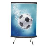 Soccer Water Splash Tripod Lamp