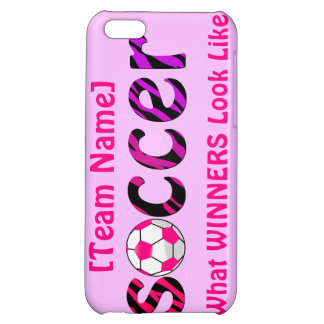 Soccer ~ What WINNERS Look Like iPhone 5C Cases