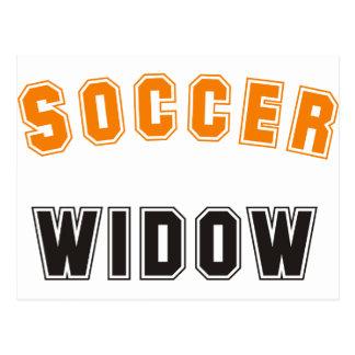 soccer widow postcard