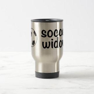 Soccer Widow Travel Mug