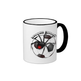 Soccer Widow with Text Mugs
