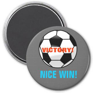 Soccer Win Magnet