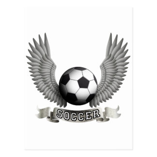 Soccer wings B Post Card