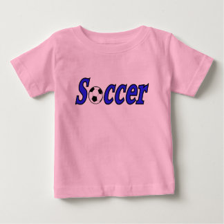 Soccer with ball baby T-Shirt