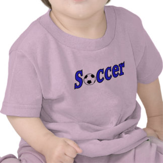 Soccer with ball t-shirts