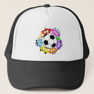 Soccer with The Peek-A-Boo Crew Trucker Hat