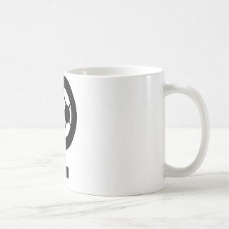 soccer women femal icon coffee mug