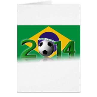Soccer World Cup 2014 Card