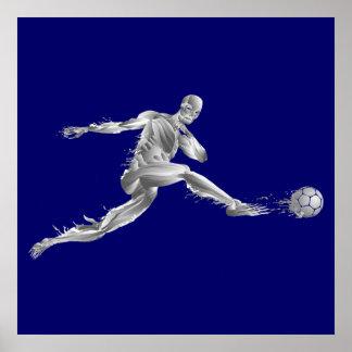 Soccer World Cup 2014 gift futebol futbol goal Poster