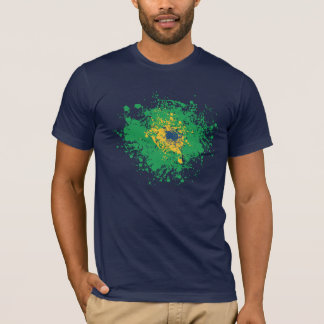 Soccer World Cup: Brazil Flag T-Shirt