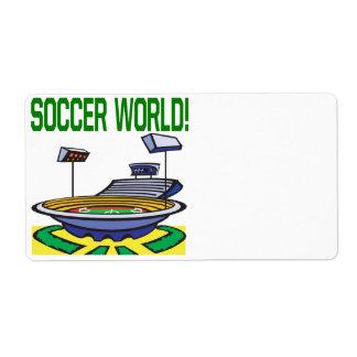 Soccer World Label