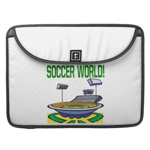 Soccer World Sleeve For MacBooks