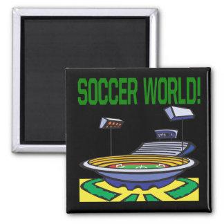 Soccer World Magnet