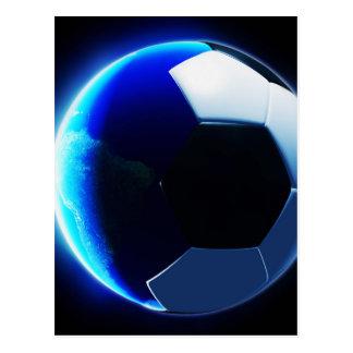 Soccer World Postcard