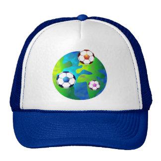 soccer world trucker hat